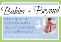 My Joy-Filled Life - Babies and Beyond Link-up