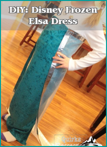 DIY: Disney Frozen Elsa Dress