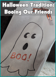 Halloween Tradition: Booing Our Friends